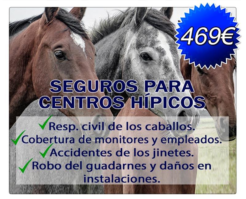 SEGUROS PARA CENTROS HÍPICOS por 469